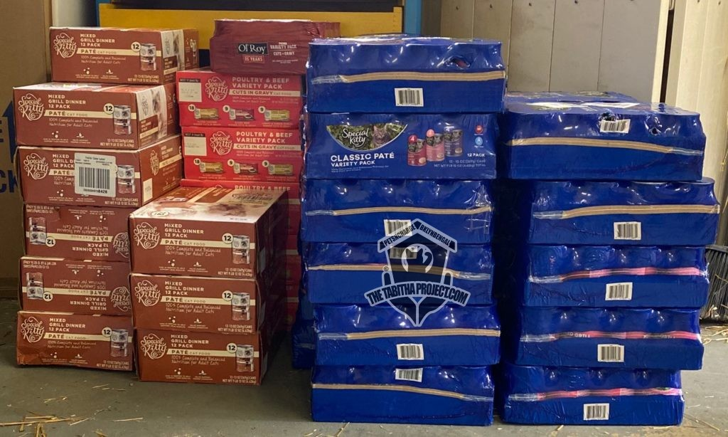 Pantry donation from Petsncharge
